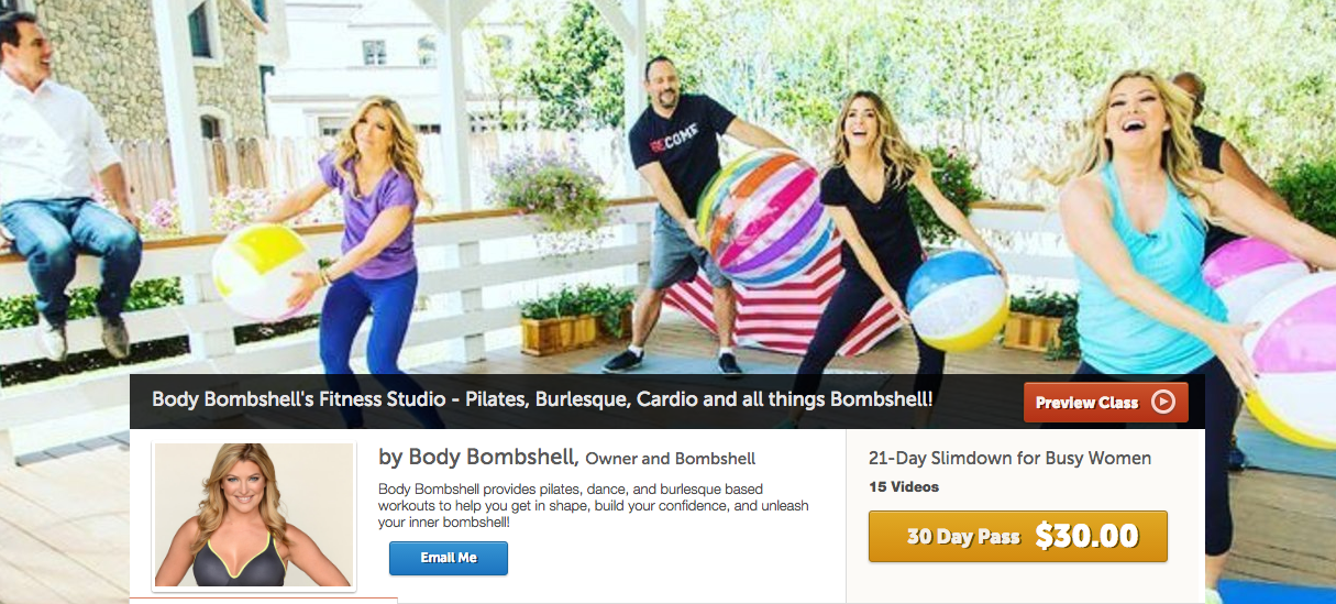 New Body Bombshell Bootcamp Class!