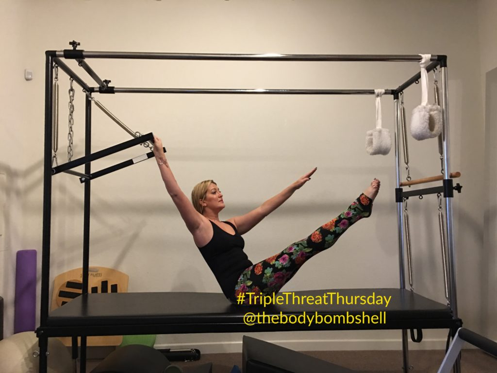 side body twist on cadillac with body bombshell fitness