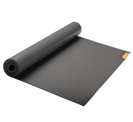 Hugger Mugger yoga mats are great for keeping your workout space clean!
